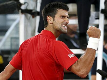 Novakova jubilarna deseta pobeda nad Iznerom FOTO: Getty Images