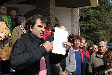 Pismo za zahtevima čeka Vučića FOTO: S. Tasić/OK Radio