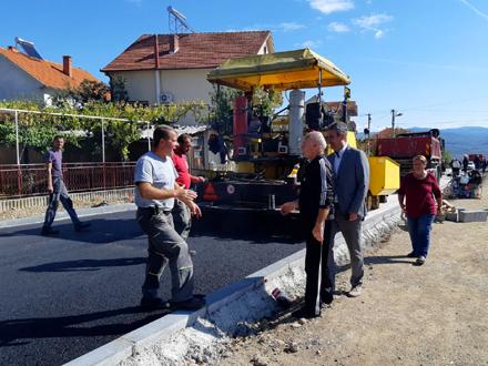 Ulica osposobljena za nesmetano odvijanja saobraćaja FOTO: vranje.org.rs