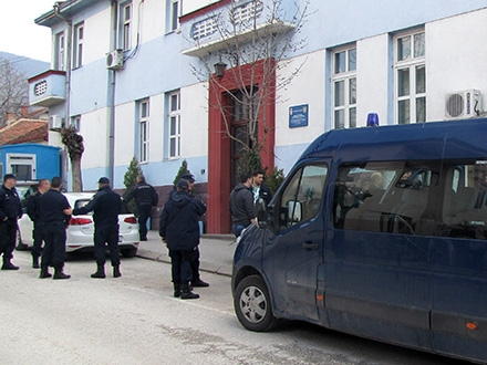 Uhapšen lopov. Foto: S.Tasić/OK Radio