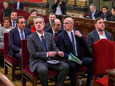 Osuđeni katalonski lideri FOTO: EPA-EFE