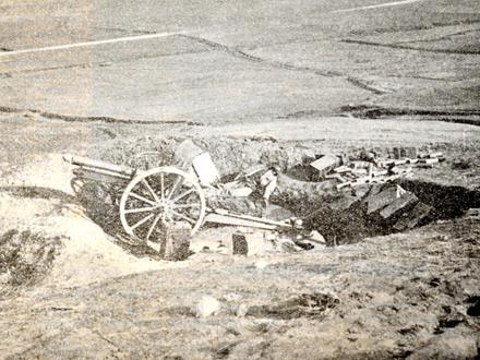 Srpska artiljerija u borbi protiv Turaka FOTO: Wikipedia
