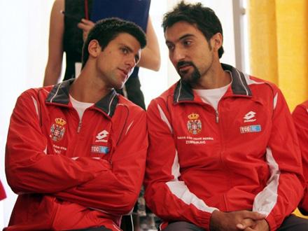 Tim će predvoditi najbolji teniser sveta Novak Đoković FOTO: Reuters
