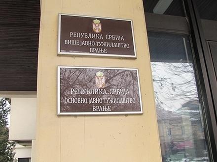 Više javno tužilaštvo u Vranju. Foto: S.Tasić/OK Radio
