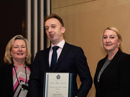 Igor obitnik prestižne nagrade