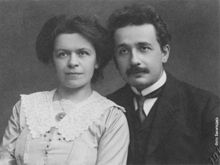 Mileva Marić iAlbert Ajnštajn FOTO: Wikipedia