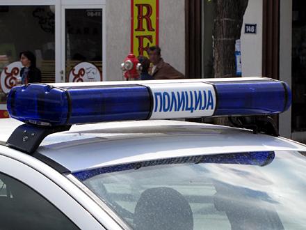 Policija na licu mesta FOTO: OK Radio