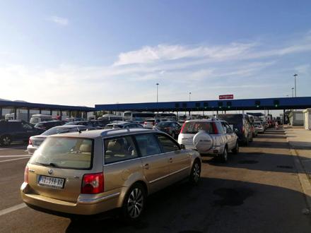 Najveći protok robe se očekuje na prelazu Preševo FOTO: S. Tasić/OK Radio