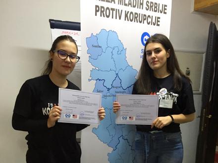 Vranjeske gimnazijalke. Foto: Promo