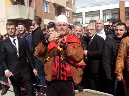 Sa ranijih okupljanja Albanaca. Foto: S.Tasić/OK Radio