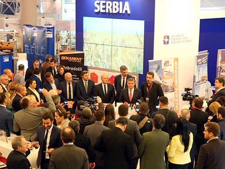 Štand Srbije na sajmu FOTO: tradeshows.com/Promo