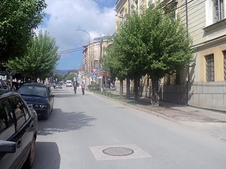Ulica cara Dušana. Foto: S.Tasić/OK Radio