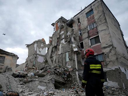 Novi zemljotres jačine 3,8 stepeni pogodio je Albaniju FOTO: Reuters