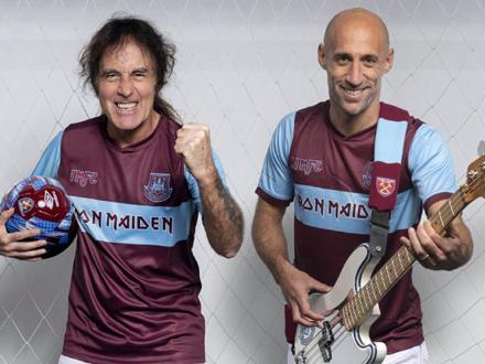 Stiv Haris i Pablo Stabaleto FOTO: whufc.com