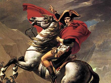 Napoleon na konju FOTO: Wikimedia