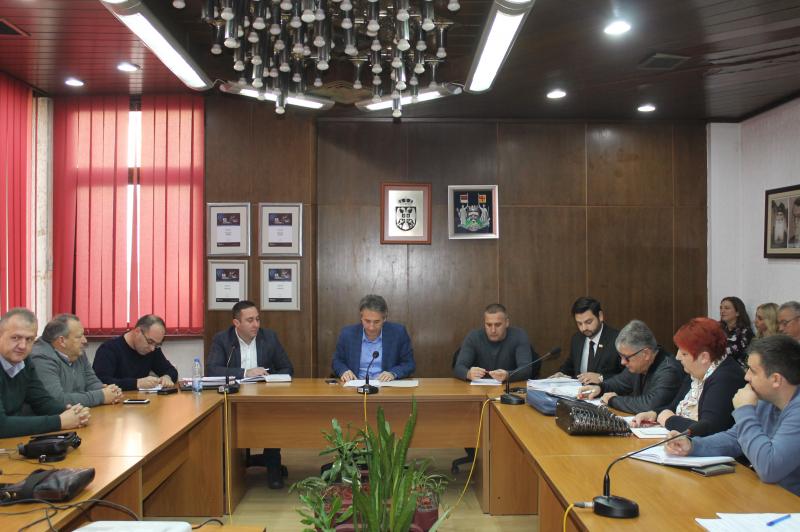 Sa sednice štaba. Foto: vranje.org.rs