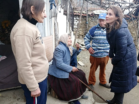 Brankica Janković u poseti Klinovcu. Foto: S.Tasić/OK Radio