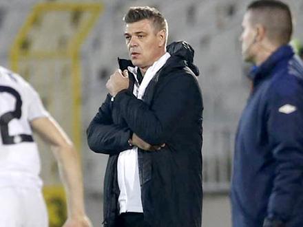 Trener se zahvalio igračima FOTO: FK Partizan