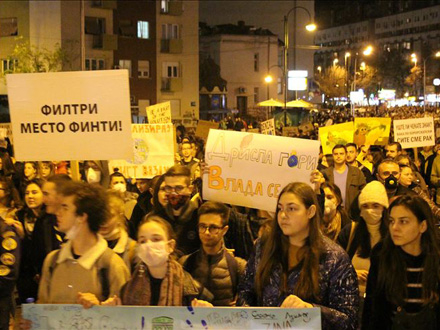 Hiljade građana Skoplja u maršu FOTO: Anadolu Agency/Admir Fazlagić