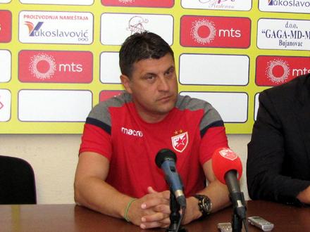 Najuspešniji trener crveno-belih u ovom veku FOTO: D. Ristić/OK Radio