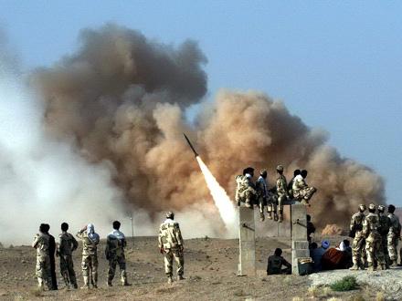 Iran ispalio više od 12 balističkih projektila na dve vojne baze FOTO: EPA-EFE