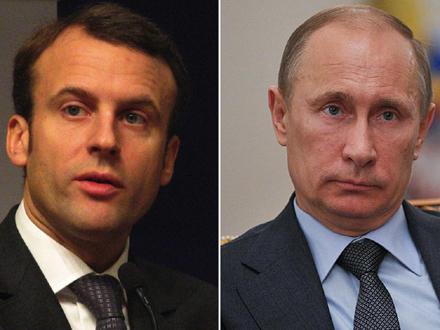 Makron i Putin o nuklearnom sporazumu FOTO: The Moscow Times