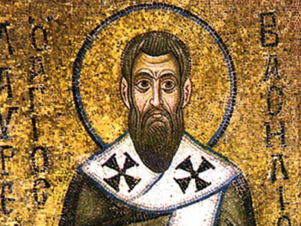 Sveti Vasilije Veliki FOTO: SPC