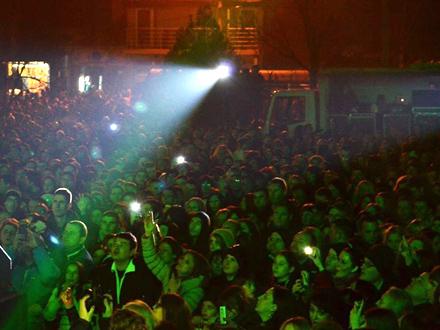 Dva koncerta za Dan grada FOTO. G. Mitić/OK Radio