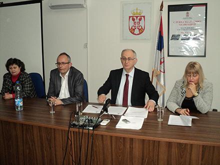 Sudije Osnovnog suda u Vranju. Foto: S.Tasić/OK Radio