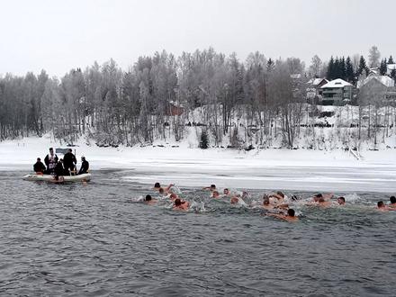 Sedamdeset takmičara u hladnoj Vlasini FOTO: D. Milošević