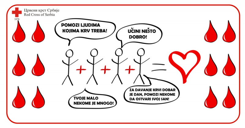 Akcija dobrovoljnog davanja krvi u sali OKCE. Foto: Promo