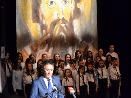 Gradonačelnik Milenković na otvaranju manifestacije FOTO: G. Mitić/OK Radio