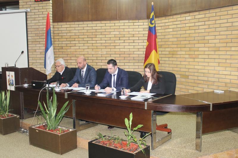 Završena sednica Skupštine. Foto: vranje.org.rs