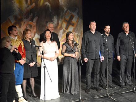 Učesnici programa zajedno FOTO: G. Mitić/OK Radio