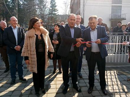 Popović, Šarčević i Tončev na otvaranju FOTO: D. Milošević