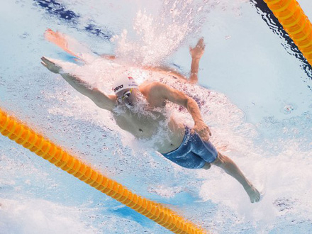 Ispllivao A normu na 200 metara slobodnim stilom FOTO: Getty Images
