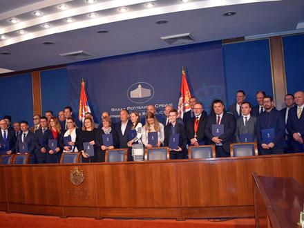 Svečanost u Vladi Srbije FOTO: srbija.gov.rs