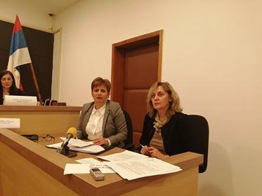Sa konferencije za novinare VJT u Vranju. Foto: S.Tasić, OK Radio