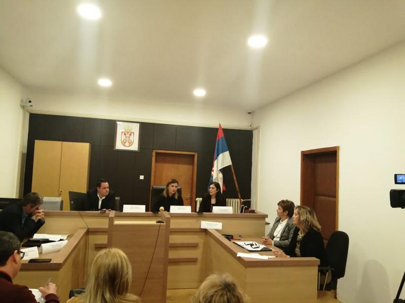Sa konferencije tužioca u Vranju. Foto: S.Tasić, OK Radio