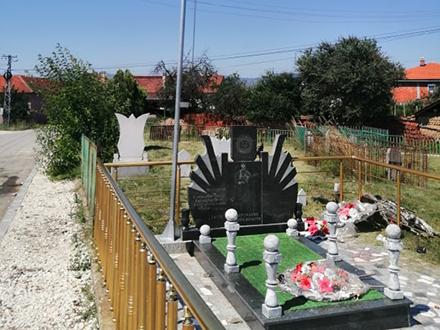 Jedan od spomenika poginulim pripadnicima OVPMB. Foto: S.Tasić/OK Radio