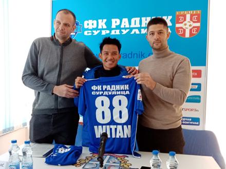 Sulaeman bio na meti klubova iz Belgije i Poljske FOTO: FK Radnik