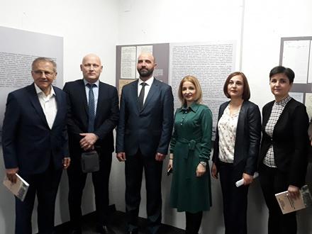 Delegacija iz Vranja sa domaćinima FOTO: vranje.org.rs