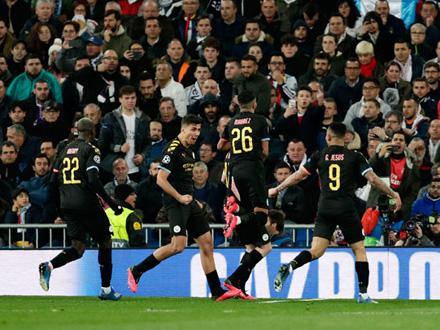 Igrači Sitija slave pobedu FOTO: AP