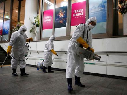 Pokušaji da se širenje koronavirusa zaustavi u Južnoj Koreji FOTO. EPA-EFE