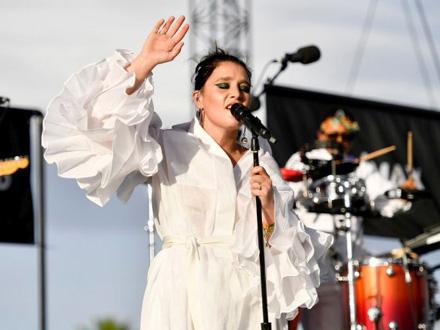 Pevačica se zahvalila i timu iz Beograda FOTO: Getty Images