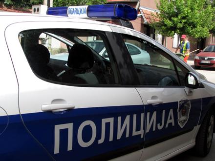 Odmah sproveden Prekršajnom sudu FOTO: D. Ristić/OK Radio
