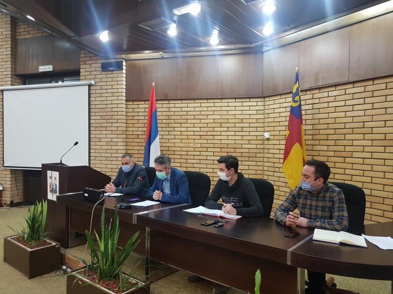 Smeštaj u Sportskoj hali, staroj Hirurgiji i kasarnama FOTO: vranje.org.rs