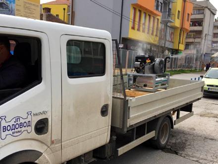 Raspršivanje i dezinfekcije atomizerom kruga ZC FOTO: vranje.org.rs