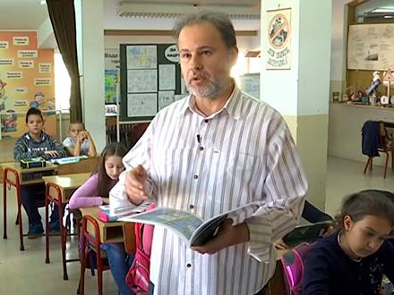 Miomir Dejanović, jedan od najnagrađivanijih učitelja u Vranju FOTO: Privatna arhiva