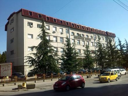 Stari deo Kliničkog centra u Nišu FOTO: D. Ristić/OK Radio